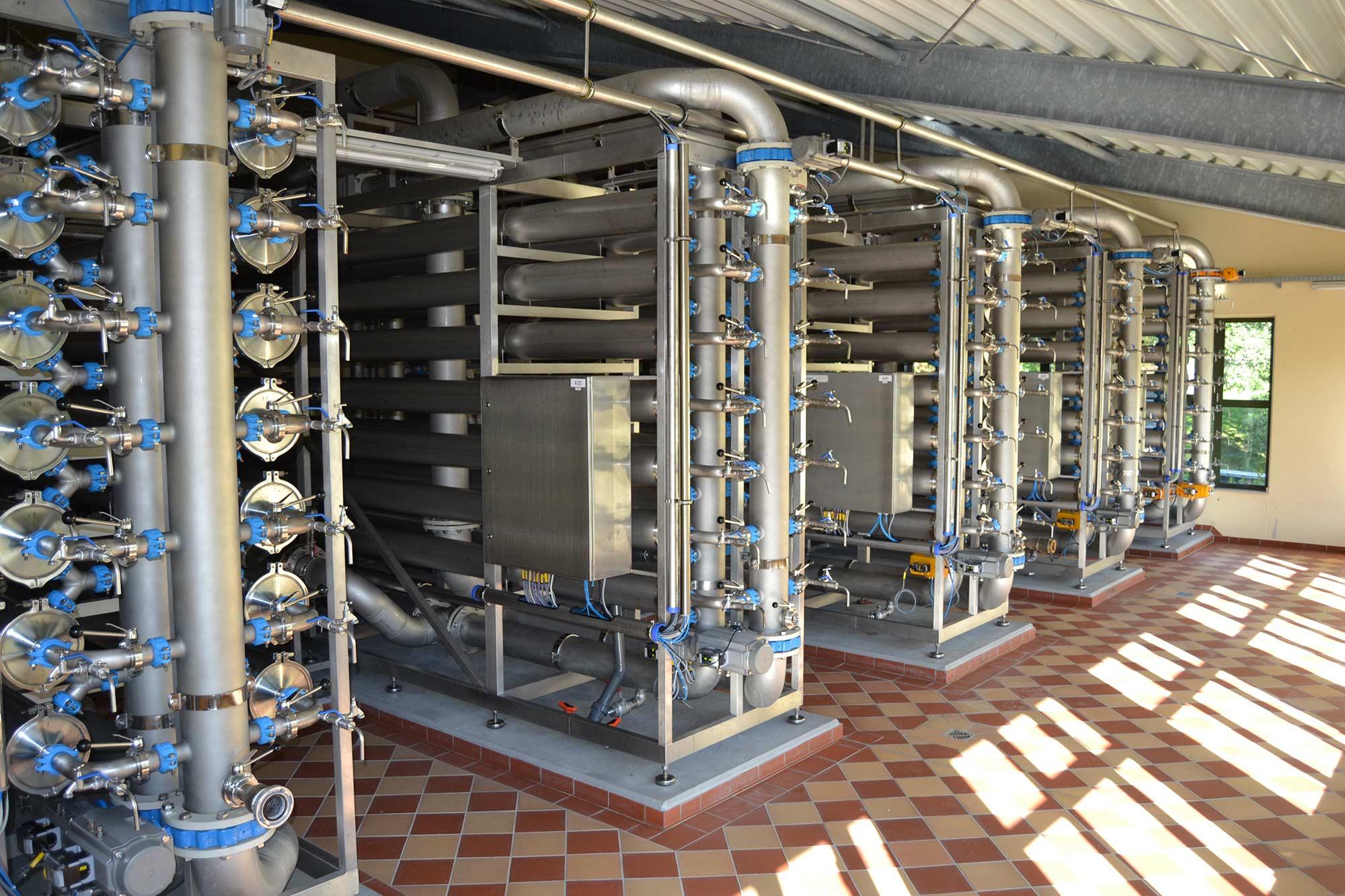 Filtermembran für sauberes Wasser